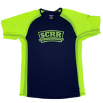 SCRR Men's Navy and Nightlife Running Short Sleeve