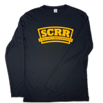 SCRR Women's Black and Gold Long Sleeve