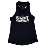SCRR Women's Black and White Tank