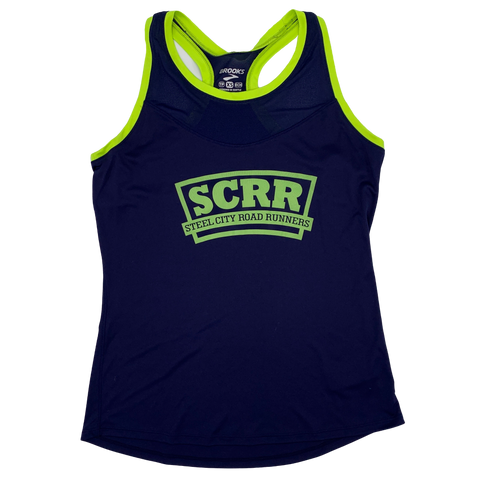 SCRR Women's Navy Stealth Tank