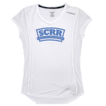 SCRR Women's White Short Sleeve