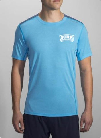 SCRR Men's Heather Pool Short Sleeve