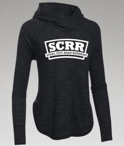 SCRR Women's Black Lightweight Sweatshirt