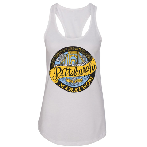 Women's Full Marathon Medallion Tank
