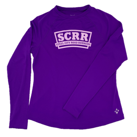 SCRR Women's UV Violet Long Sleeve