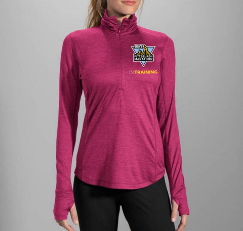 Women's Sangria In Training 1/2 Zip - Dick's Sporting Goods Pittsburgh Marathon