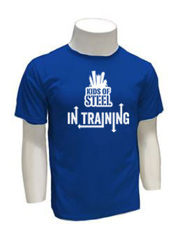 Kids of STEEL In Training Tech Tee