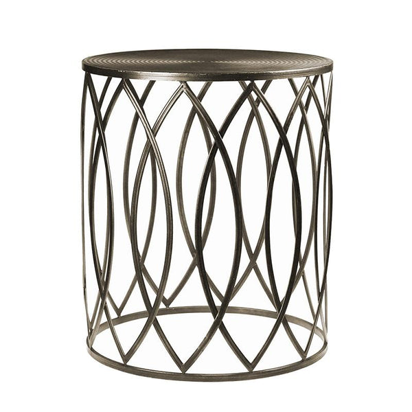 Madras Link Martini Bronze Side Table