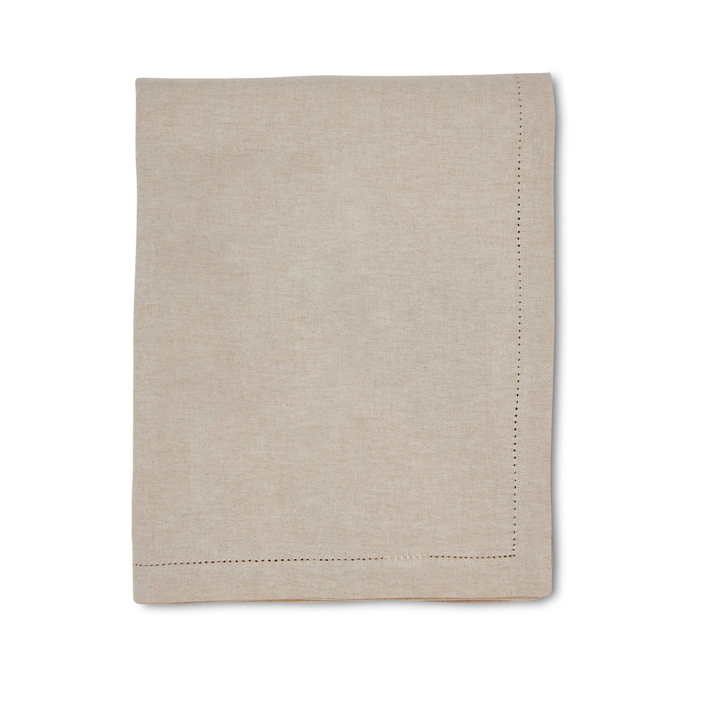 Jetty Oatmeal Tablecloth 150x230cm