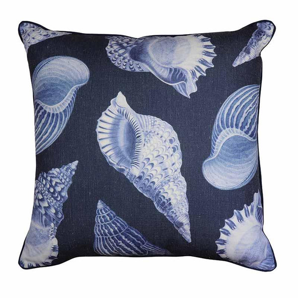 Madras Link Atlantic Indigo/White Cushion 50cm