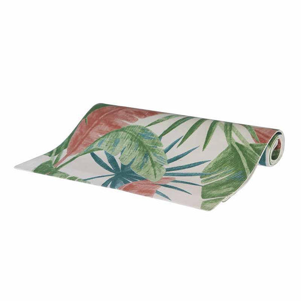 Madras Link Costa Rica Green/Pink Table Runner