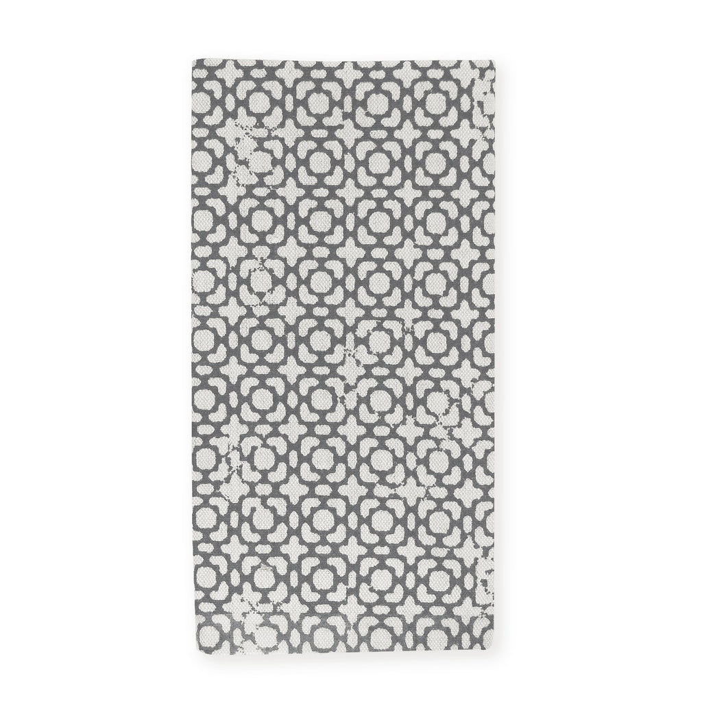 Country Style Adelaide Charcoal Napkins Set of 4