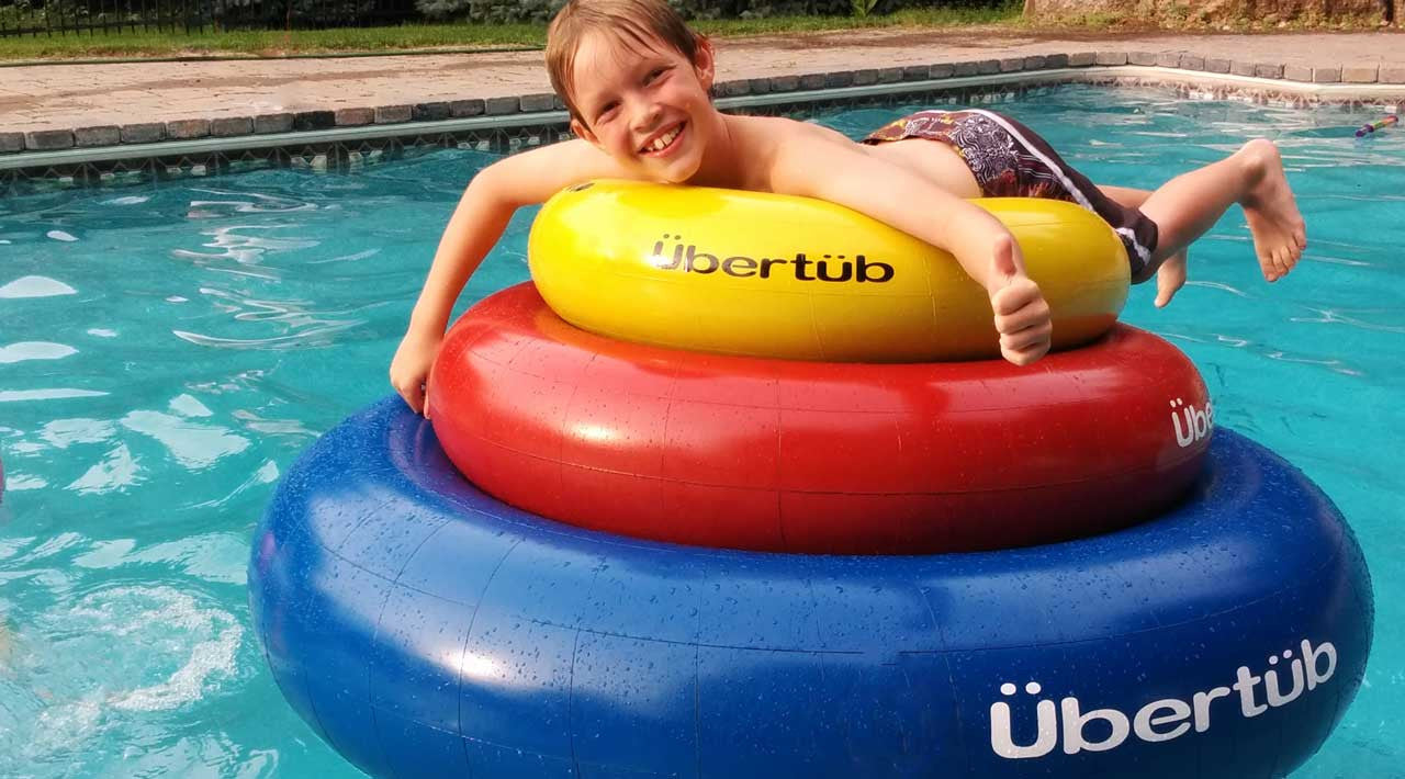 The classic rubber inner tube. Reinvented.