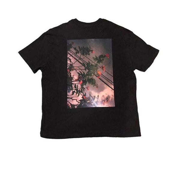 FEAR OF GOD ESSENTIALS PHOTO TEE BLACK FW19