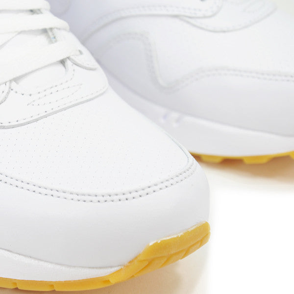 NIKE AIR MAX 1 LEATHER PREMIUM ACCESS WHITE 705007-111