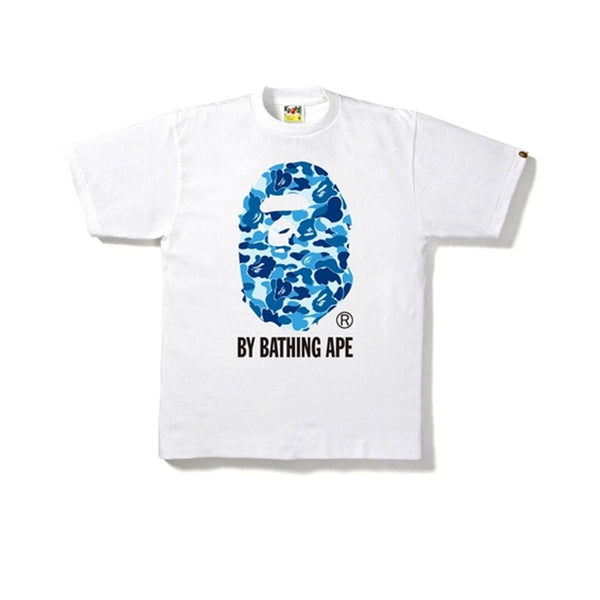 BAPE ABC BY BATHING TEE WHITE/BLUE SS19