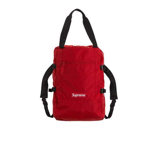 SUPREME TOTE BACKPACK RED SS19