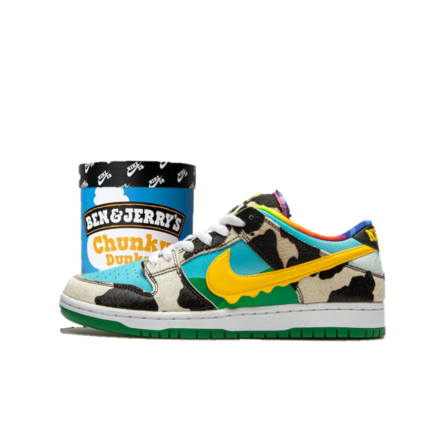 "NIKE SB DUNK LOW ""BEN & JERRY'S CHUNKY DUNKY"" (FRIENDS & FAMILY PACKAGING)"