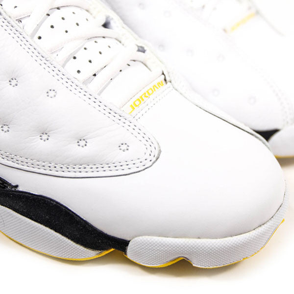 "AIR JORDAN 13 RETRO LOW ""WHITE/VARSITY-MAIZE"" 2015 310810-104"
