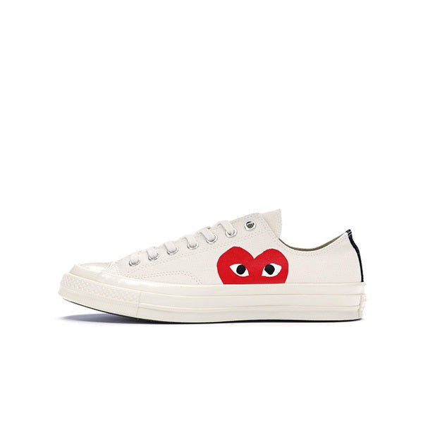"CONVERSE CHUCK TAYLOR ALL-STAR 70S OX COMME DES GARCONS PLAY ""WHITE"""