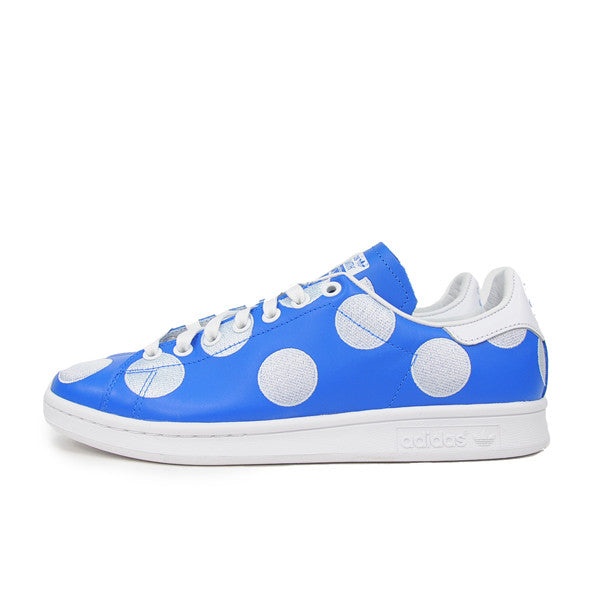 "ADIDAS X PHARRELL STAN SMITH ""POLKA DOT BLUE"" B25398"
