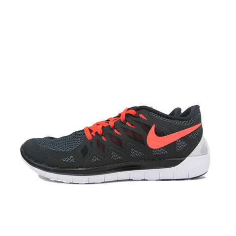 NIKE FREE 5.0 BRIGHT BLACK CRIMSON 642198-061
