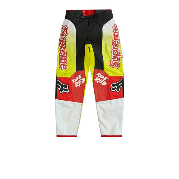 SUPREME HONDA FOX RACING MOTO PANT RED FW19