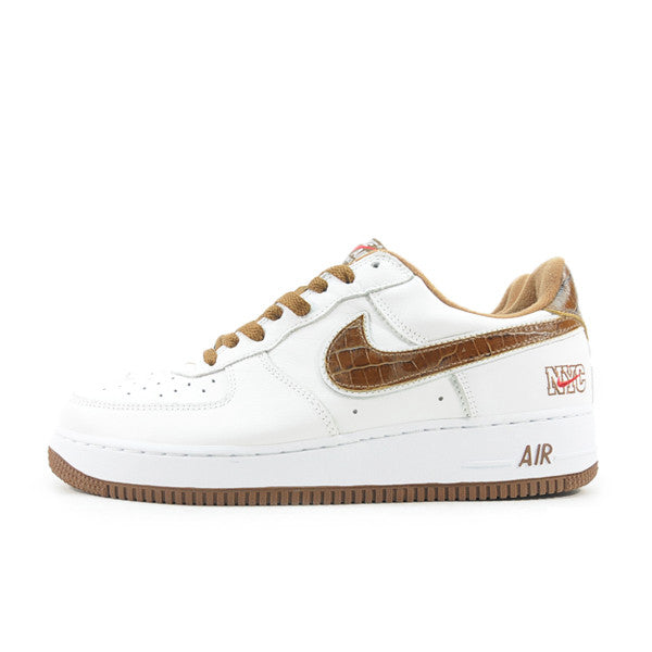 "NIKE AIR FORCE 1 LOW NYC ""BISON"" 2003 306509-121"