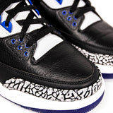 "AIR JORDAN 3 RETRO ""SPORT BLUE"" 136064-007"