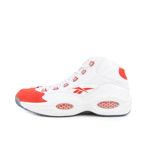 "REEBOK TEAM QUESTION MID ""WHITE/RED"" 2009 4-52071"