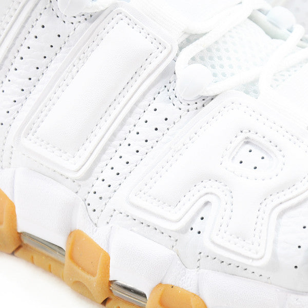 NIKE AIR MORE UPTEMPO WHITE GUM 	414962-103
