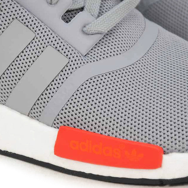 "ADIDAS NMD RUNNERS J ""GREY/RED"""
