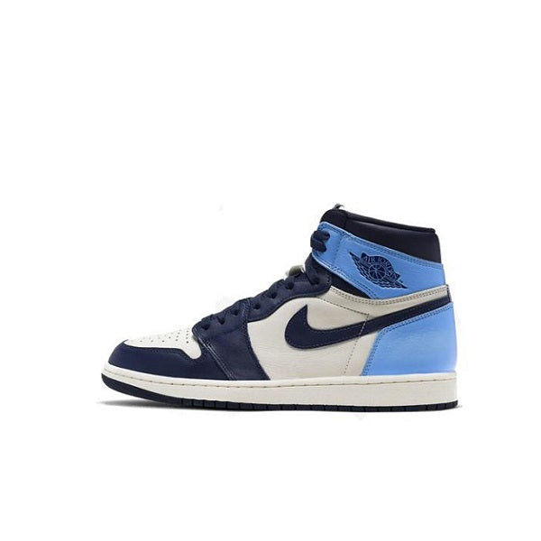 "AIR JORDAN 1 RETRO GS ""OBSIDIAN UNC"" 2019"