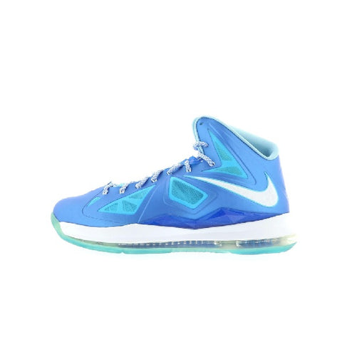 "NIKE LEBRON 10 ""BLUE DIAMOND"" 2012 598360-400"