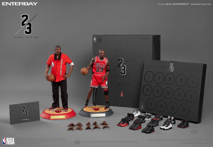 ENTERBAY MICHAEL JORDAN FINAL LIMITED EDITION (AWAY) 1:6 FIGURE
