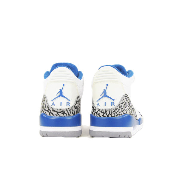 "AIR JORDAN 3 ""TRUE BLUE"" 2009 136064-141"