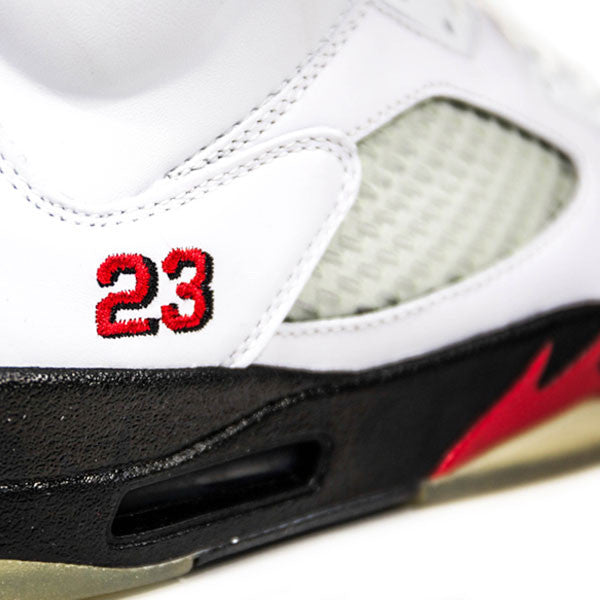 "AIR JORDAN 5 RETRO 2008 CDP ""FIRE RED"" 136027-163"
