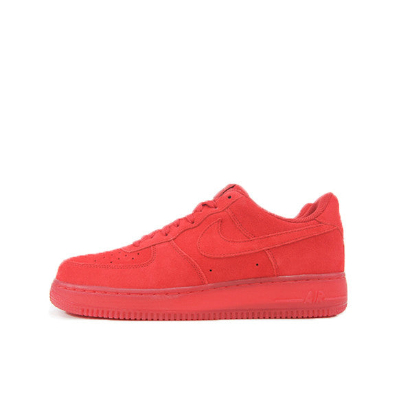 "NIKE AIR FORCE 1 07 LV8 ""SOLAR RED"" 718152-601"