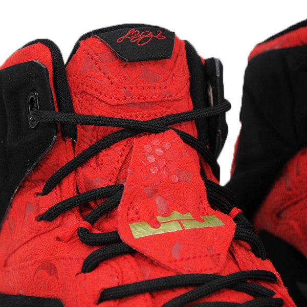 "NIKE LEBRON 12 EXT ""RED PALSLEY"" 748861-600"