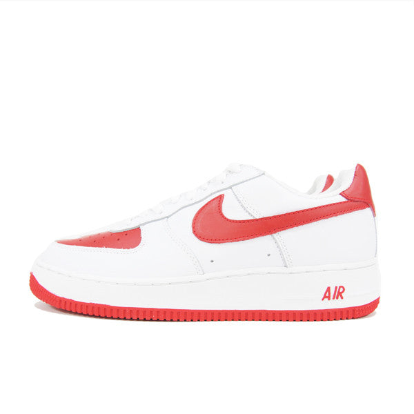NIKE AIR FORCE 1 RED TOES 306353-161