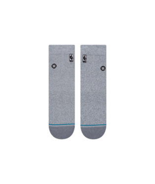 STANCE HOOP NBA LOGOMAN ST QUARTER-LENGTH SOCKS GREY