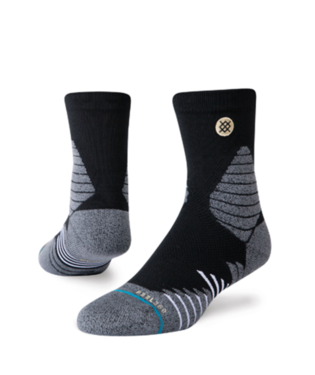 STANCE ICON HOOPS QUARTER-LENGTH SOCKS BLACK