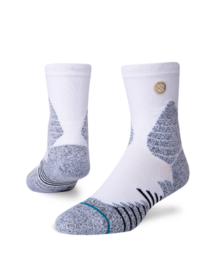 STANCE ICON HOOPS QUARTER-LENGTH SOCKS WHITE