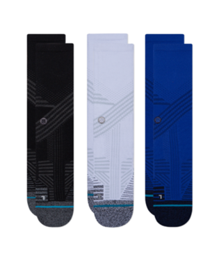 STANCE ATHLETIC CREW SOCKS 3 PACK
