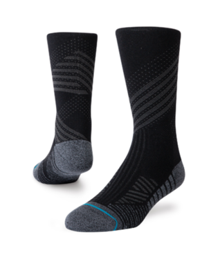 STANCE ATHLETIC CREW ST SOCKS BLACK