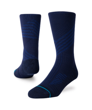 STANCE ATHLETIC CREW ST SOCKS NAVY