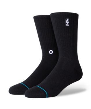 STANCE HOOP NBA LOGOMAN ST SOCKS BLACK