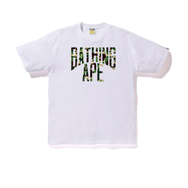 BAPE ABC NYC LOGO TEE WHITE GREEN SS19