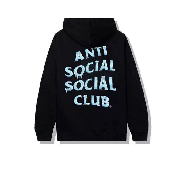 ANTI SOCIAL SOCIAL CLUB COLD SWEATS HOODIE BLACK