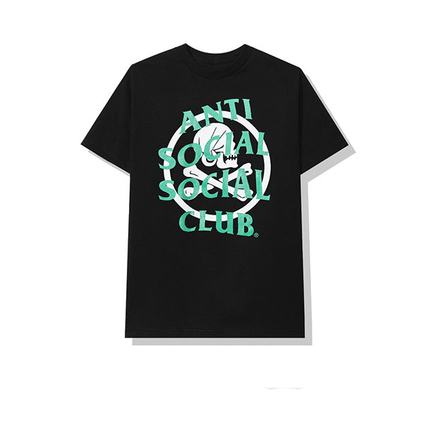 NEIGHBORHOOD X ANTI SOCIAL SOCIAL CLUB CAMBERED TEE BLACK